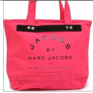 MARC by MARC JACOBS NEON PINK TOTE‼️